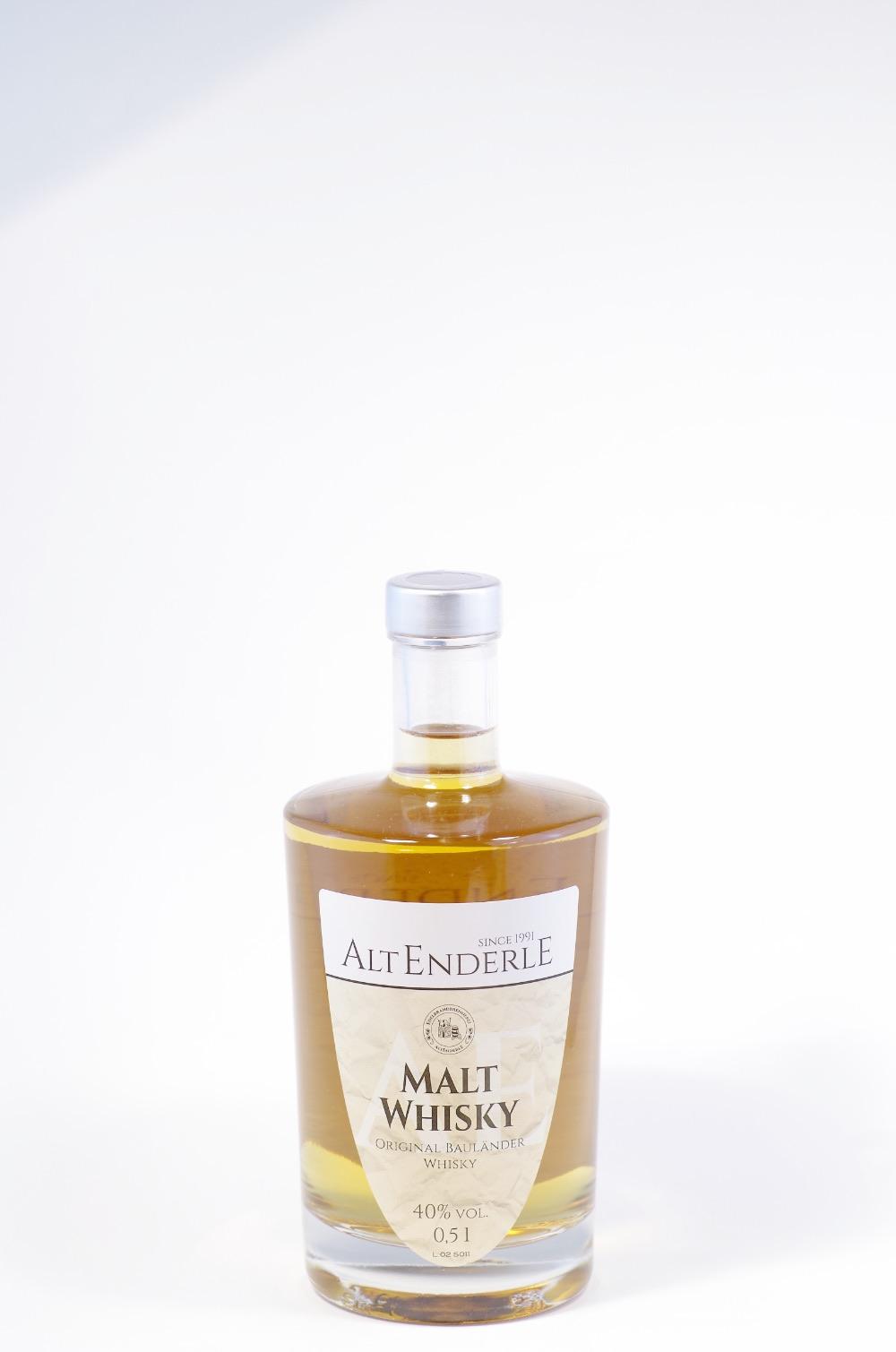Alt Enderle Malt Whisky Bild