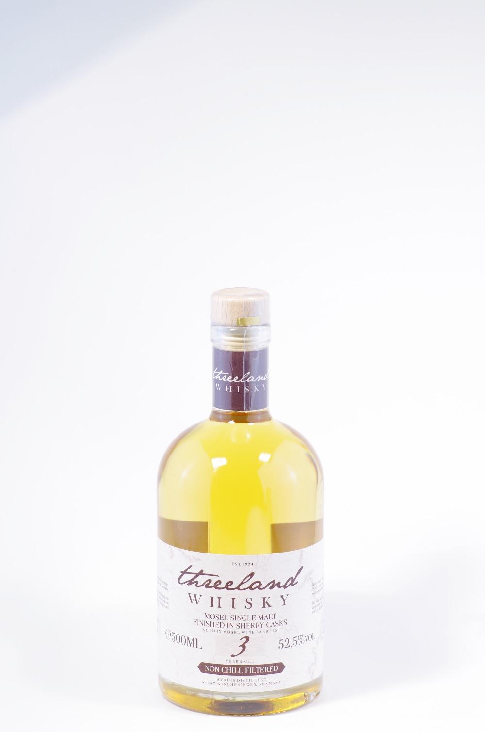 Threeland Whisky sherry Cask Bild