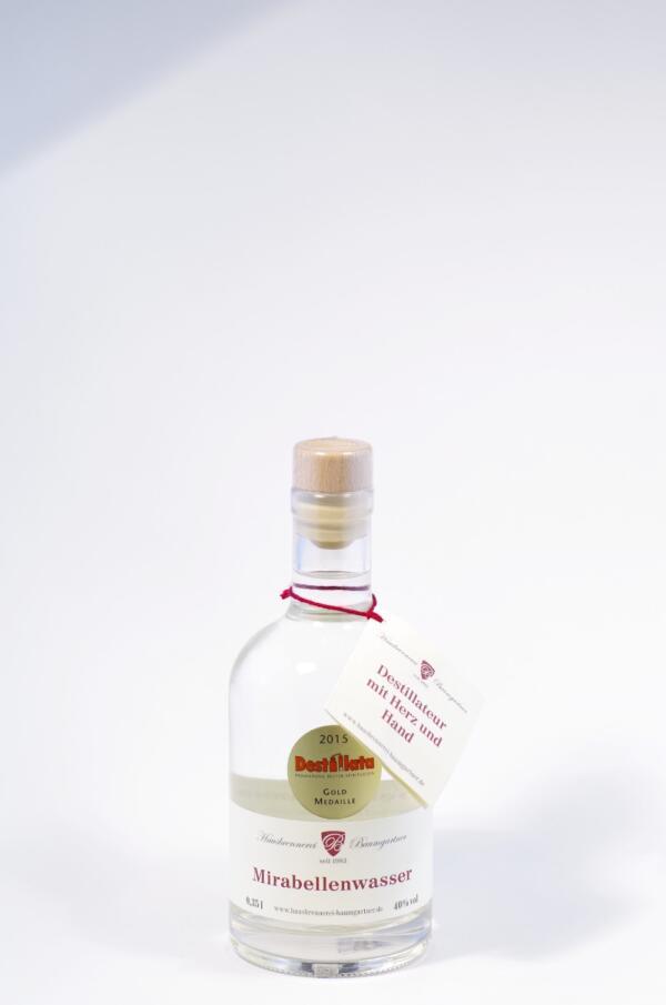 Baumgartner Mirabellenwasser Bild