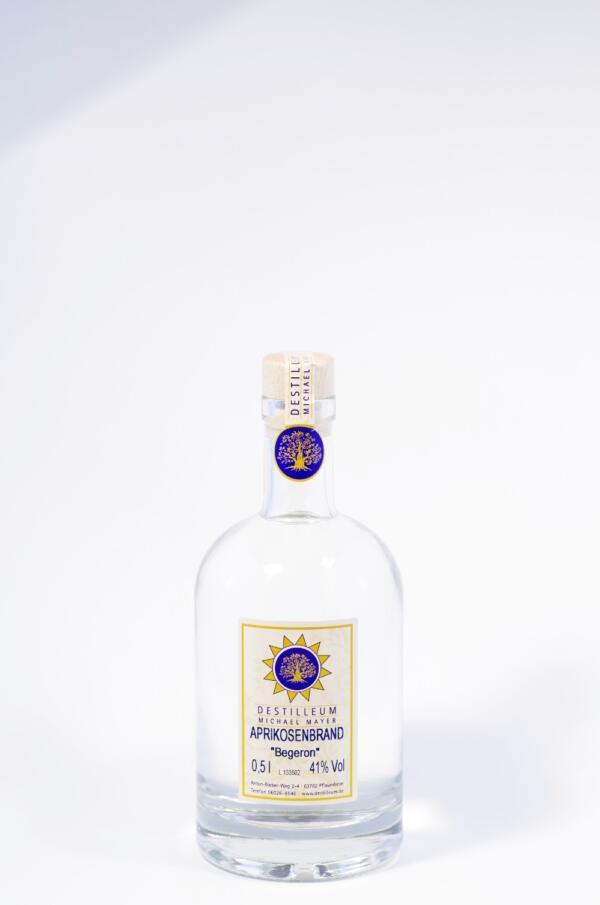 "Destilleum Aprikosenbrand ""Begeron"" Bild"