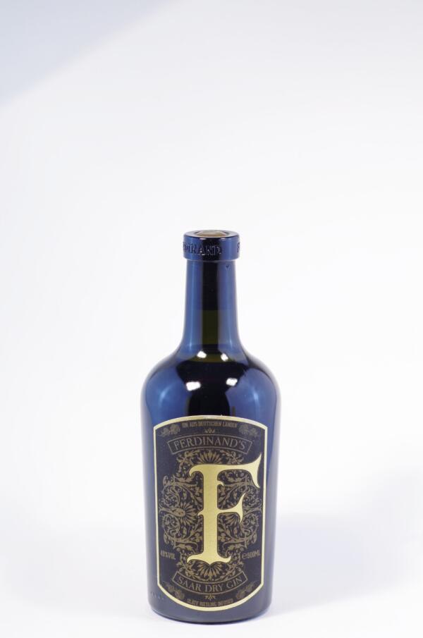 Ferdinand`s Saar Dry Gin Gold Cap Bild