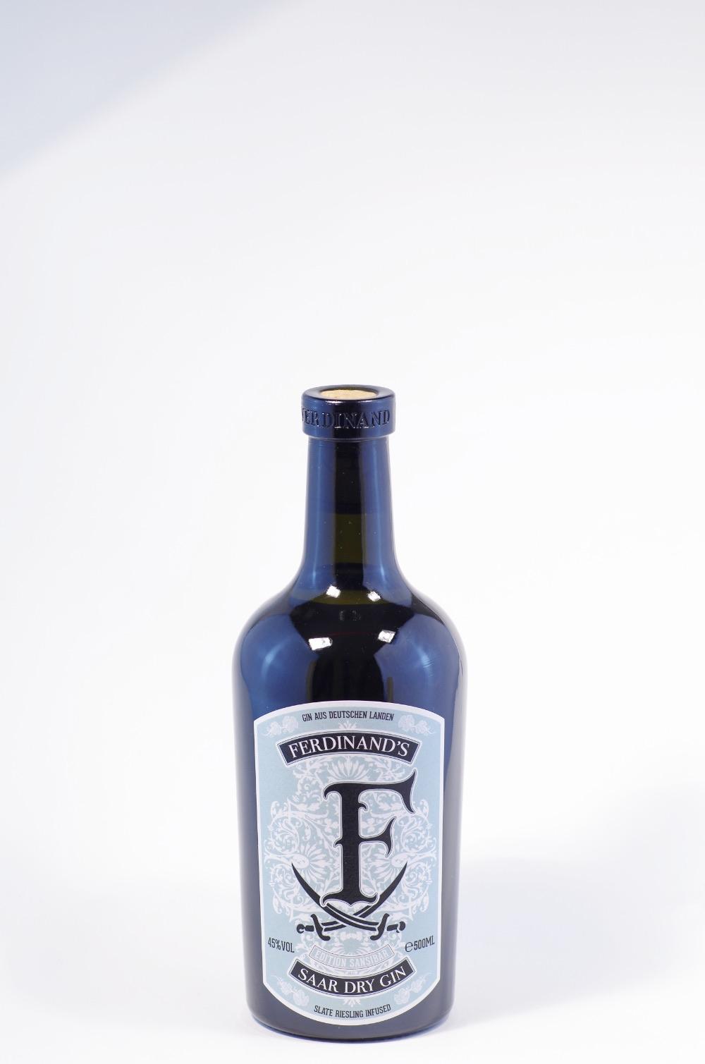 Ferdinand`s Saar Dry Gin Sansibar Bild