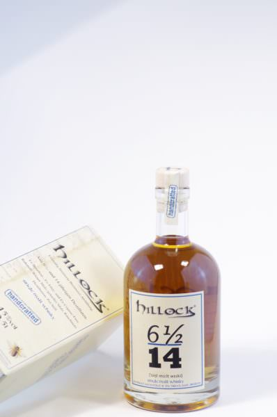Hillock 6 1/2 14 single malt whisky Bild