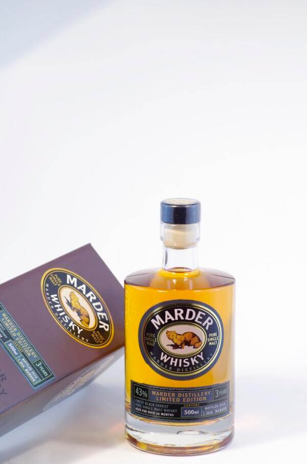 Marder Pure Single Malt Whisky Bild