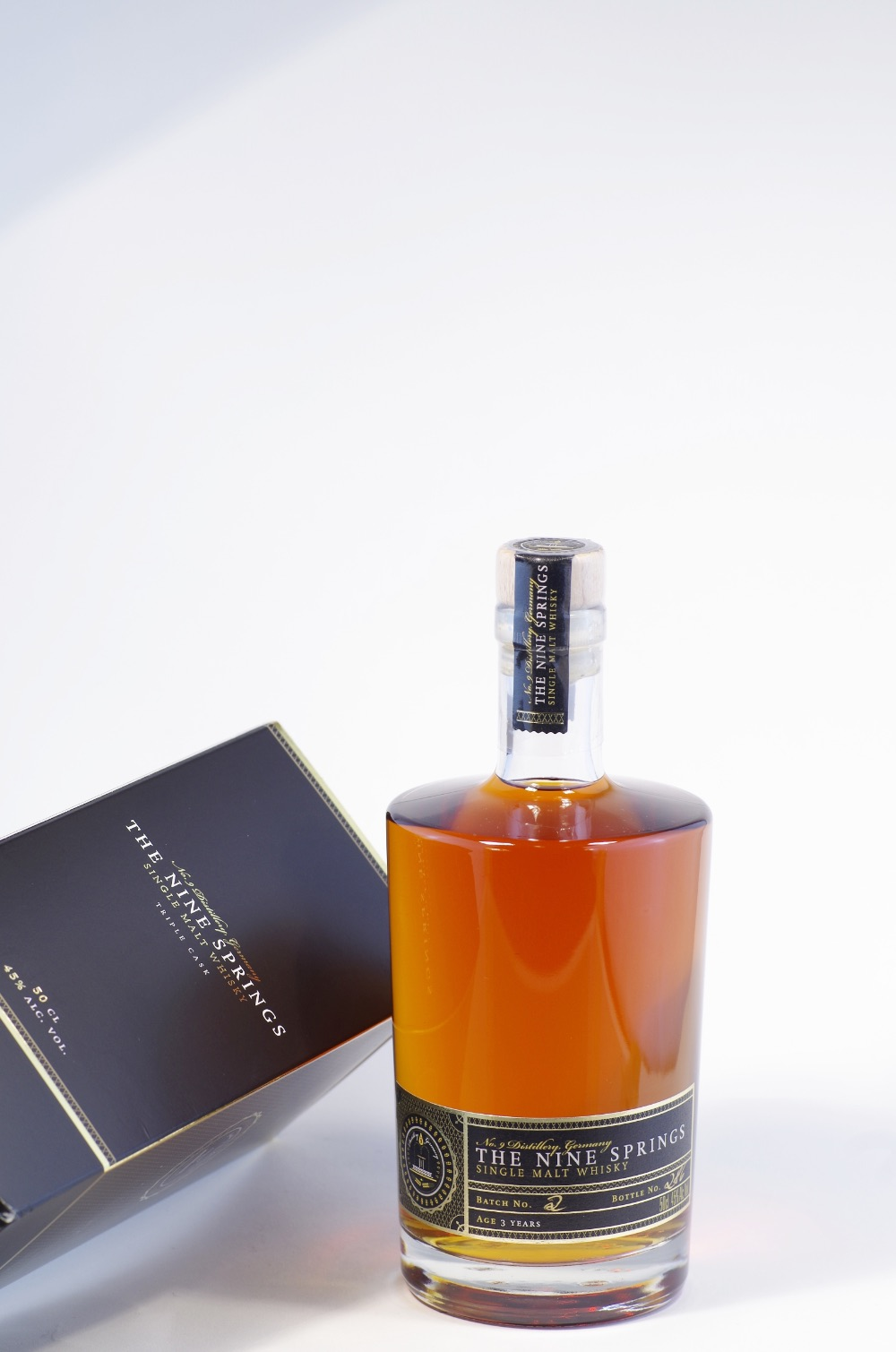 No9 The Nine Springs Single Malt Whisky Bild