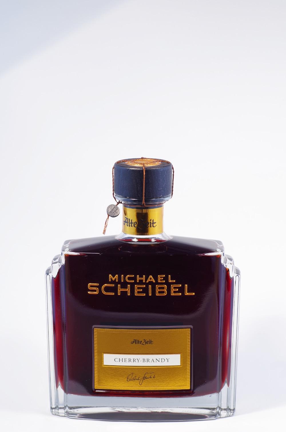 Scheibel Alte Zeit Cherry Brandy Bild