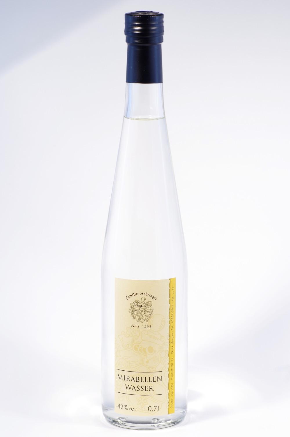 Sehringer Mirabellenwasser Mirballenbrand Bild