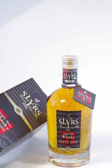 Slyrs 51 Single Malt Whisky Bild