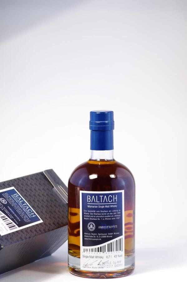 Baltach Wismarian Single Malt Whisky Bild