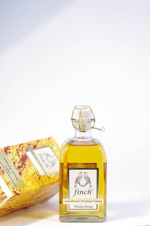 Finch whisky Honig Likör Bild