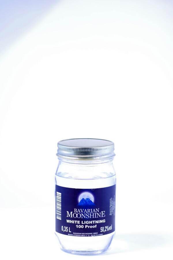 Bavarian Moonshine White Lightning 100 Jar Bild