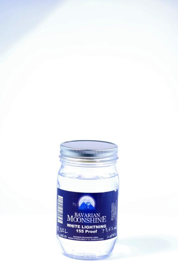 Bavarian Moonshine White Lightning 155 Jar Bild
