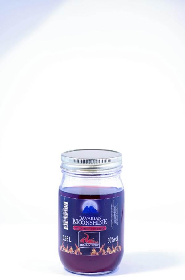 Bavarian Moonshine Wild Smoky Cherry Jar Bild