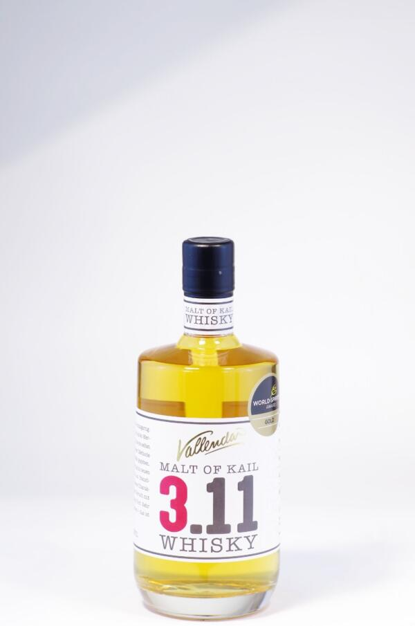Hubertus Vallendar Malt of Kail 3.11. Whisky