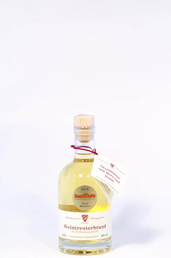 Baumgartner Weintresterbrand Bild