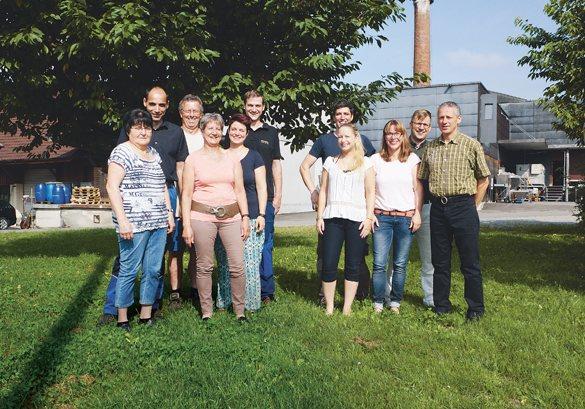 Brennerei Humbel Team Bild