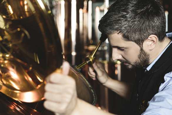 Slyrs Whisky Brennerei Bild