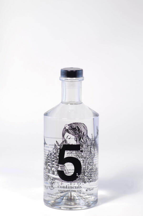 5 Continents Gin Bild