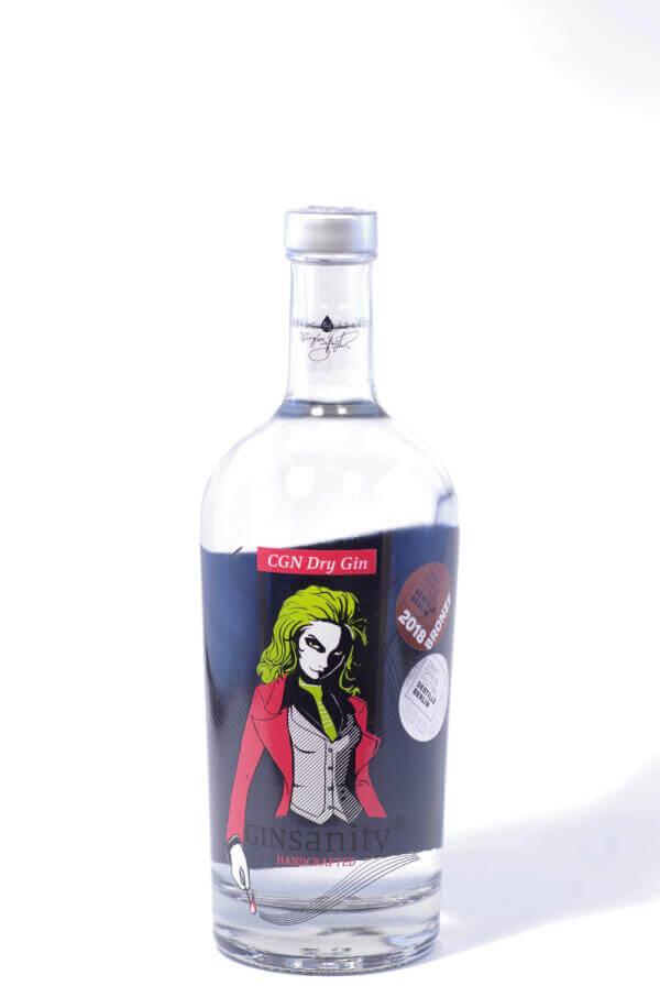 Ginsanity Dry Gin Bild