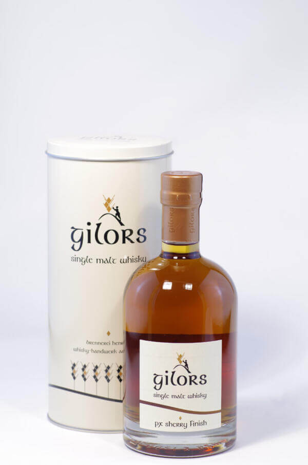 Gilors PX Sherry Single Malt whisky Bild