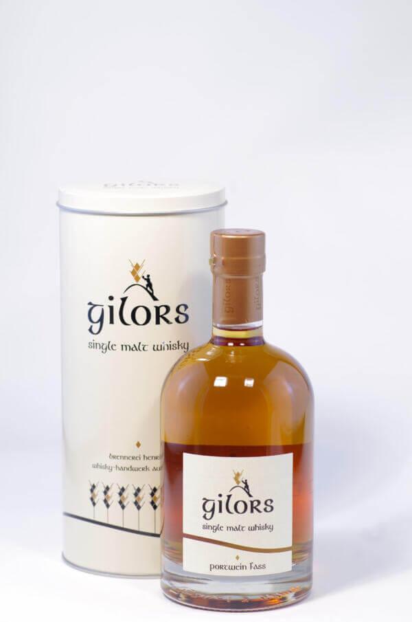 Gilors Portwein Fass Single Malt whisky Bild