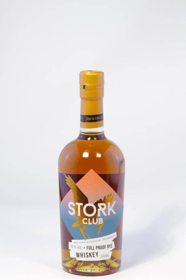 Stork Full Proof Rye Whisky Bild