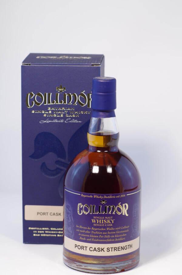 Coillmore Whisky Port Cask Strength Bild