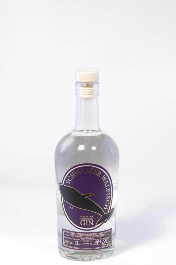 Schwarzer Walfisch Gin Bild