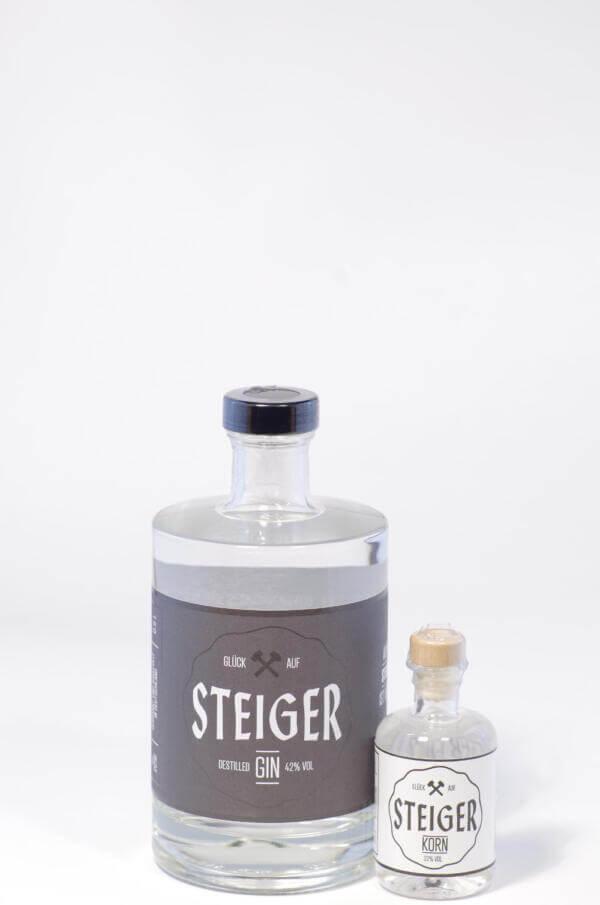 Steiger Gin mit Steiger Korn 0,05 l Bild