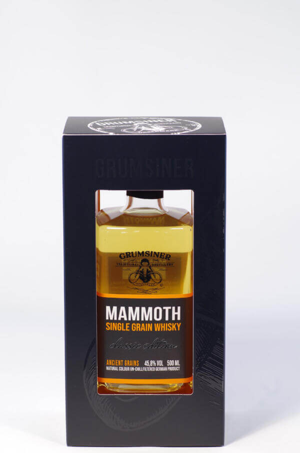 Mammoth single grain Whisky bild