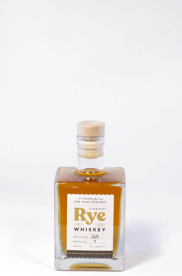 Nine Springs Rye Whiskey Bild