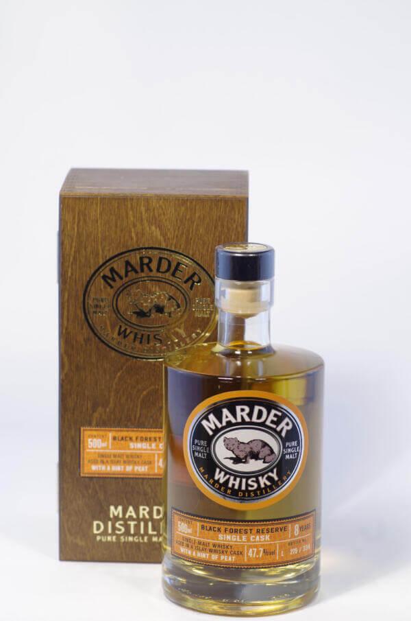 Marder Whisky Peated Bild