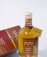Slyrs Whisky Vanilla and Honey Bild
