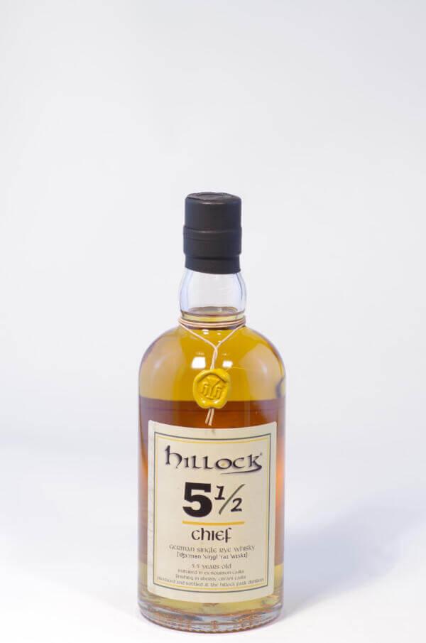 Hillock 5 1-2 Chief Rye whisky Bild