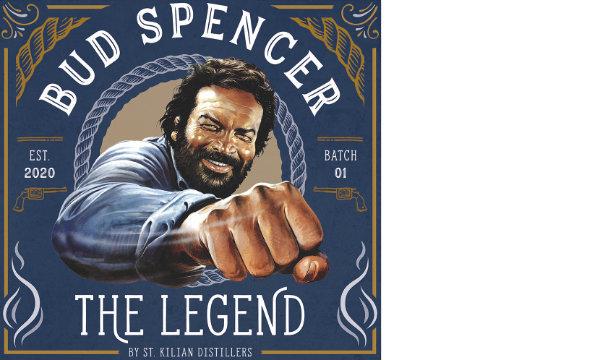 St. Kilian Bud Spencer Whisky Banner
