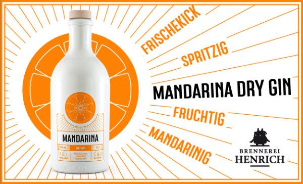 Mandarina Dry Gin Banner